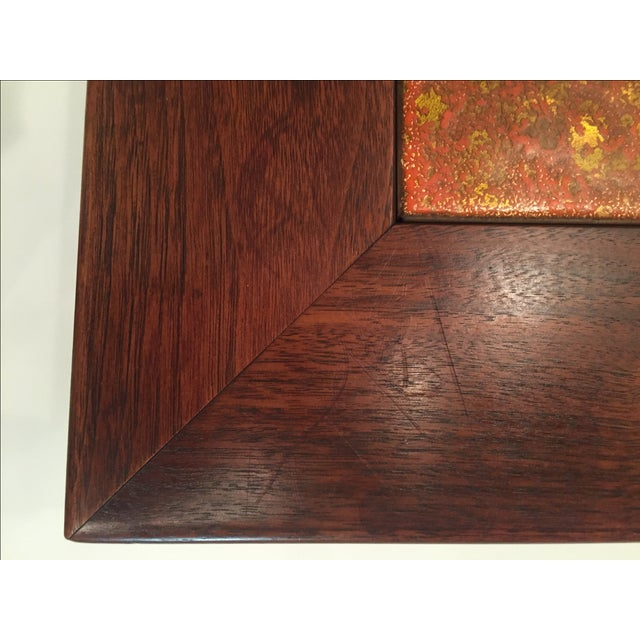 John Keal for Brown Saltman Tile Top Table For Sale In Los Angeles - Image 6 of 6