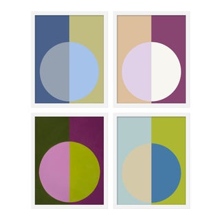 "Medium ""Cool Forevers"" Print by Stephanie Henderson, 32"" X 40"" - Set of 4"