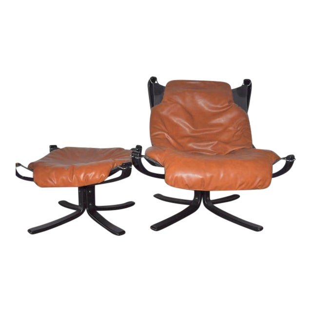 Falcon Chair and Ottoman Set - Image 1 of 8