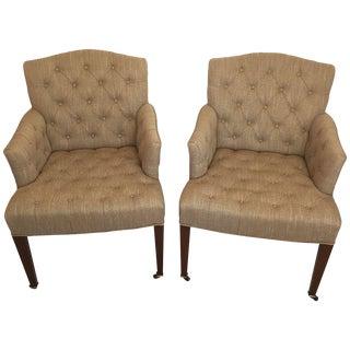 Henredon & Diane von Furstenberg Chairs - A Pair For Sale