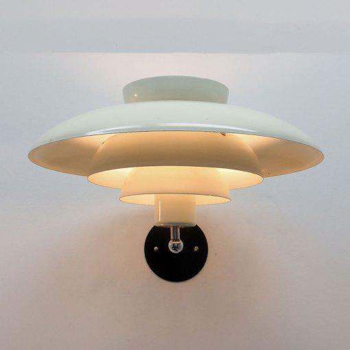 Horn Danish Wall Light For Sale - Image 10 of 11