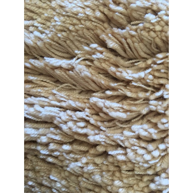 """Turkish Hand Knotted Wool Rug - 4'10"""" X 6'9"""" - Image 5 of 5"""