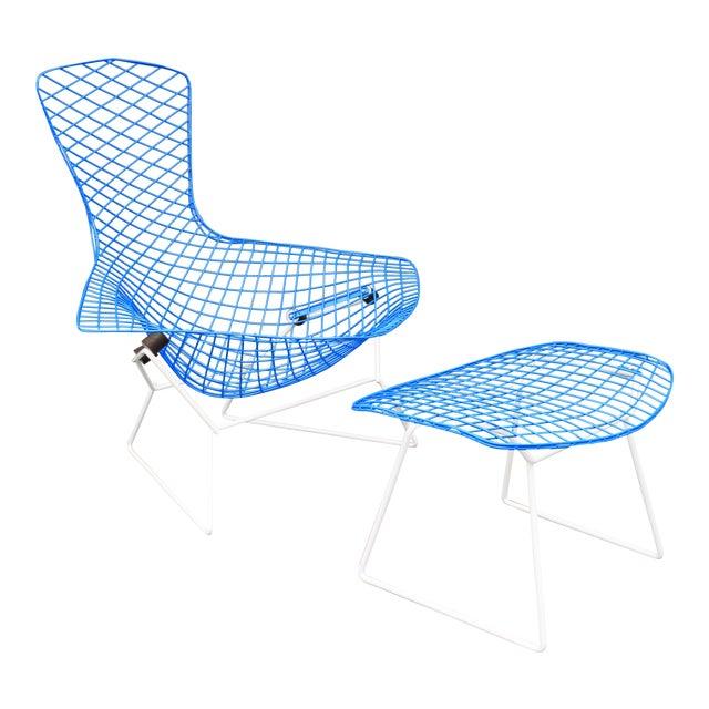 "Mid-Century Modern ""Bird"" Chair & Ottoman For Sale"