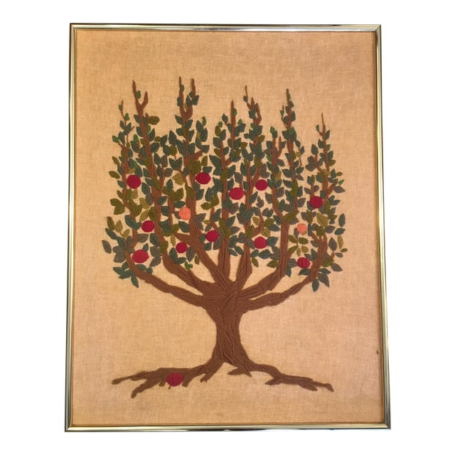 Vintage Tree of Life Tapestry For Sale
