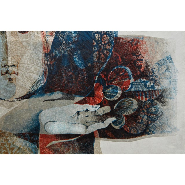 Alvar Sunol Munoz-Ramos, Untitled, Signed and Numbered, # 63/80, 1980 For Sale In New York - Image 6 of 12