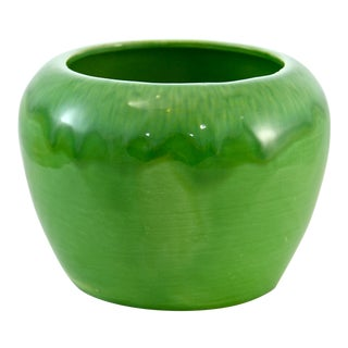 Last Call! California Pottery Drip Glaze Planter For Sale