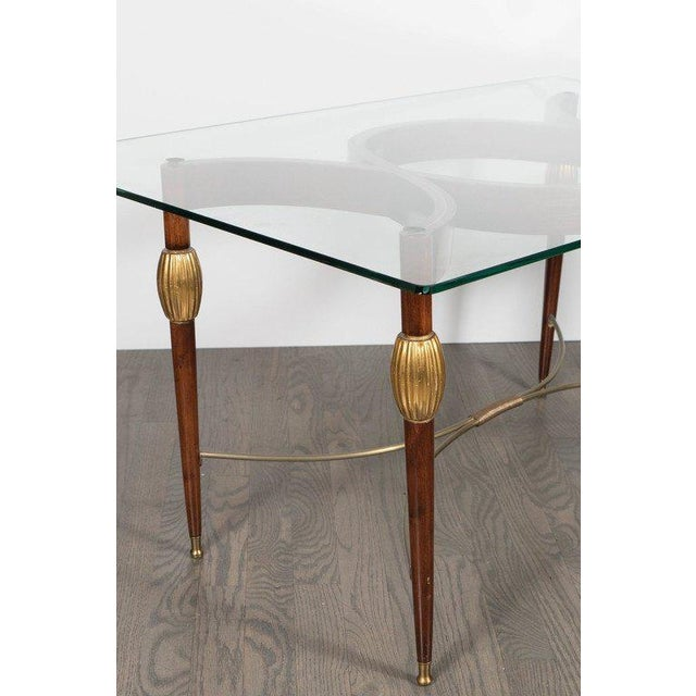 Mid-Century Modern Italian Cocktail Table in the Style of Gio Ponti, circa 1945 For Sale In New York - Image 6 of 11