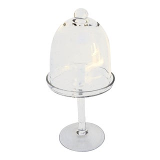 1970s Blown Glass Cupcake Stand For Sale