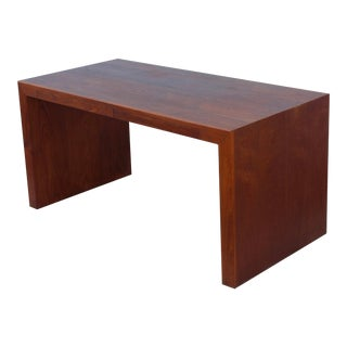 Mid-Century Modern Custom Made Partners Walnut Desk For Sale