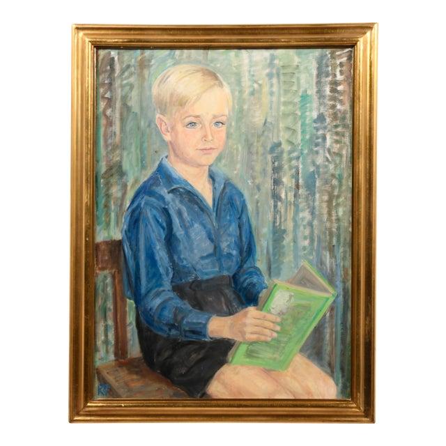 Portrait of a Danish Boy - Image 1 of 3