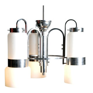Mid-Century Modern Hungarian Chandelier For Sale