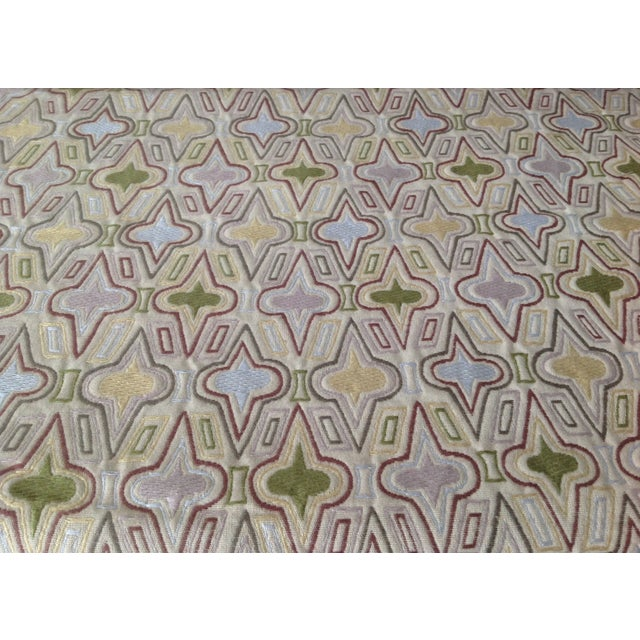 "Three and a half yards of; Donghia ""Casino,"" Textile, Pattern # 10025, a transitional contemporary take, this woven..."