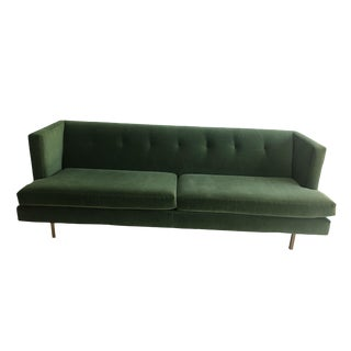 Avec Emerald Apartment Sofa For Sale