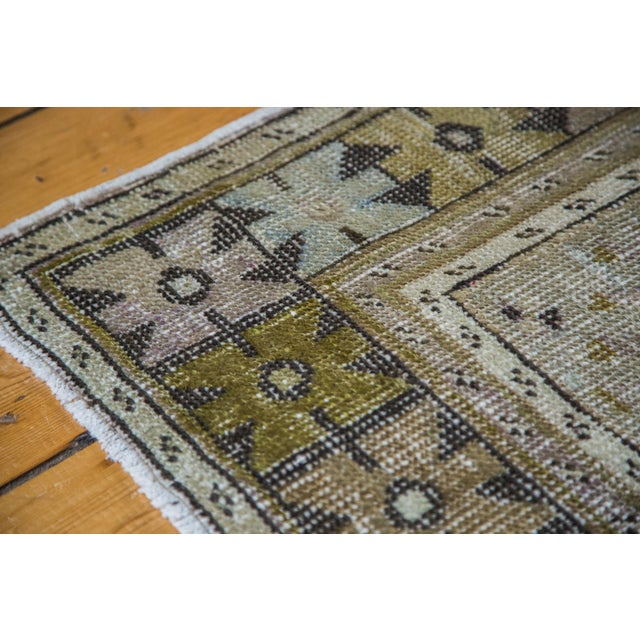 "Distressed Oushak Rug Runner - 3'5"" x 5'9"" - Image 4 of 5"