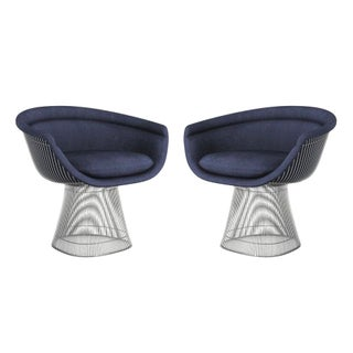 Knoll Platner Lounge Chairs - A Pair