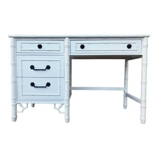 Thomasville Allegro Faux Bamboo Desk