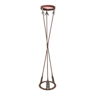 Neoclassical Style Cast Iron Plant Stand For Sale