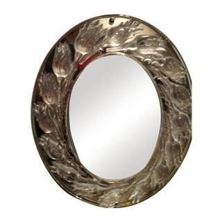 Lalique Bouton De Roses Desk Mirror