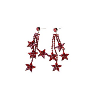 Red Cassiopeia Earring For Sale