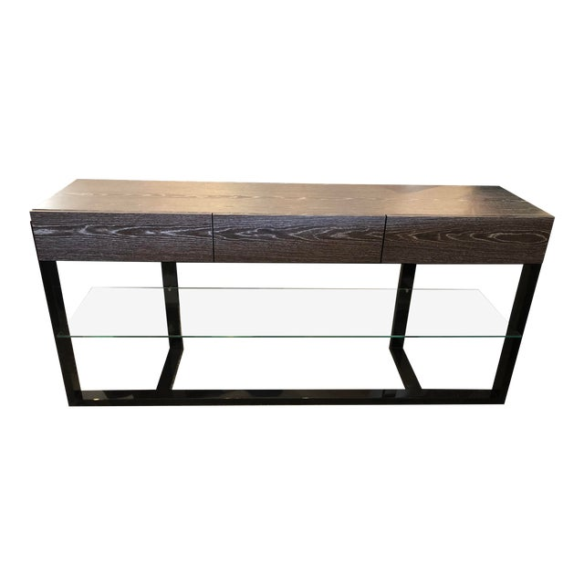 Contemporary Furnitech Signature Home Console Table For Sale