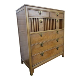Mid Century Modern Tall Chest of Drawers by American of Martinsville For Sale