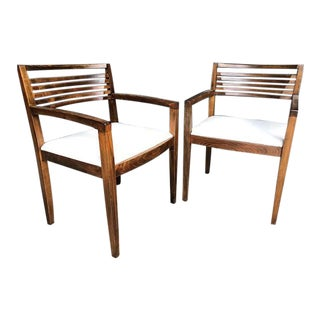 Knoll Ricchio Chairs - A Pair For Sale