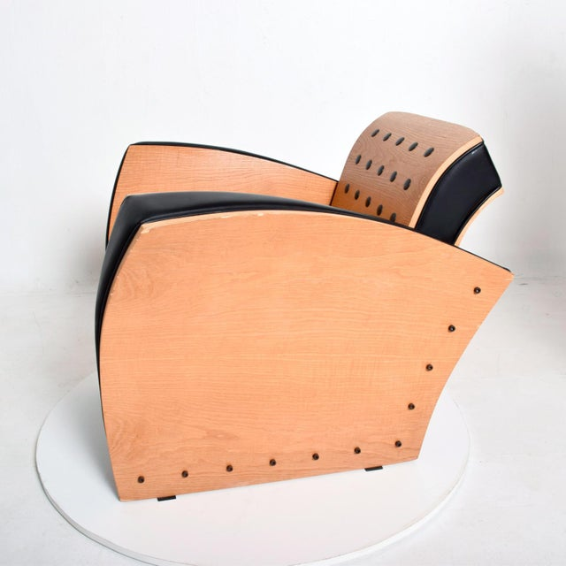 Art Deco Ron Arad Contemporary Modern Fauteuil Crust Arm Chair For Sale - Image 3 of 11