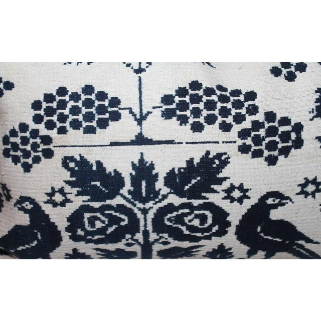Pair of 19th Century Lancaster Co. Coverlet Pillows - Image 5 of 7