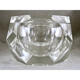 Large Mid-Century Lucite Ice Bucket Attributed to Alessandro Albrizzi Preview