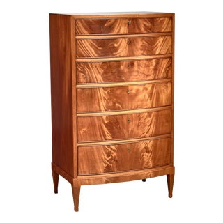 Frits Henningsen Tall Dresser, Denmark, 1940s For Sale
