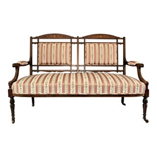 Refurbished Edwardian Settee