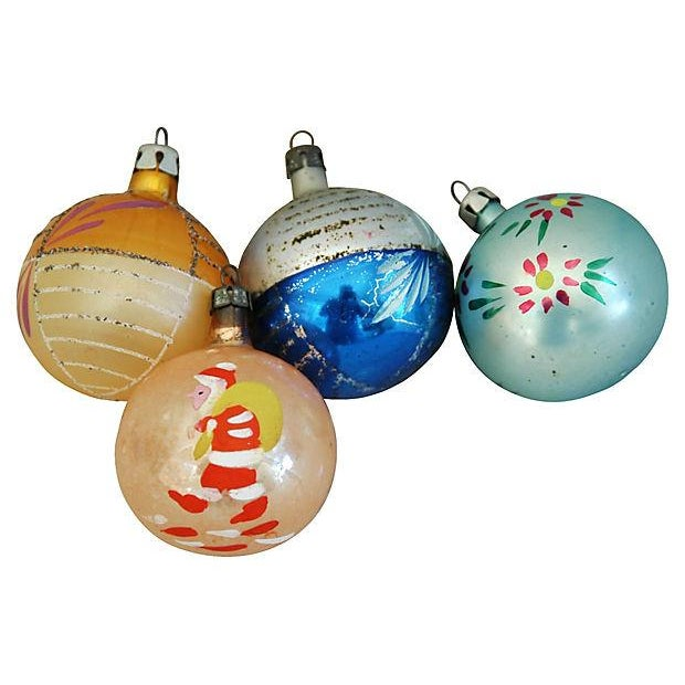 1960s Christmas Ornaments with Box - Set of 12 - Image 4 of 8