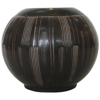 1930's Nils Thorsson Danish Earthenware Vase for Alumina - 50th Anniversay Sale For Sale