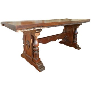 Trestle Dining Table For Sale