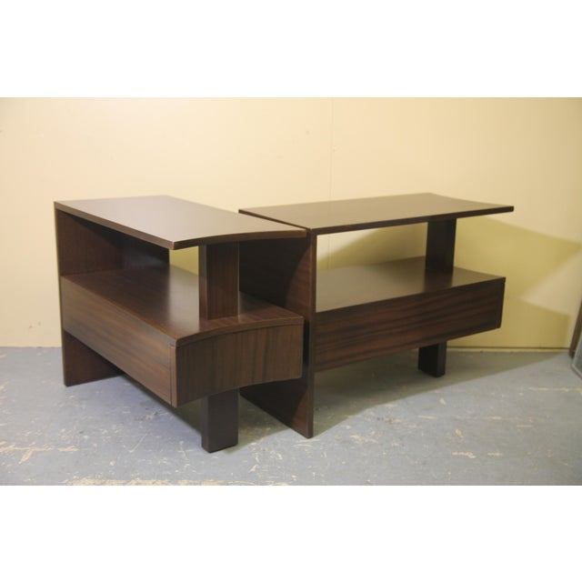 1930s Modernage African Mahogany Side Table For Sale - Image 10 of 10