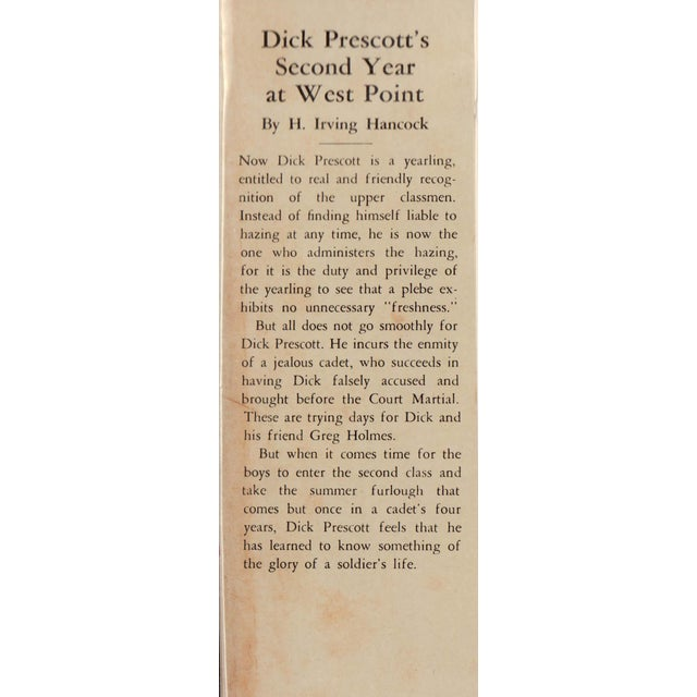 Dick Prescott's Second Year at West Point: or Finding the Glory of the Soldier's Life by H. Irving Hancock. Akron, Ohio:...