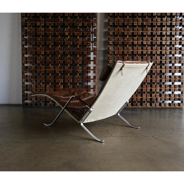 Bauhaus Preben Fabricius and Jørgen Kastholm Grasshopper Chaise for Alfred Kill For Sale - Image 3 of 13
