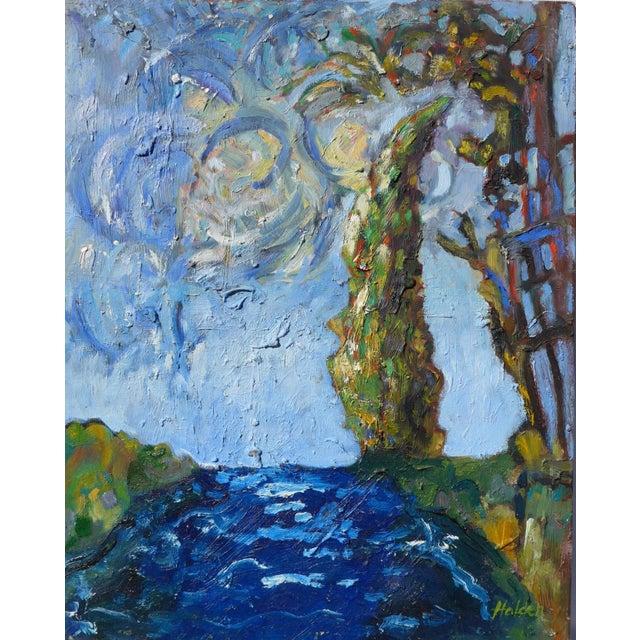 Seaside, After Van Gogh Painting - Image 1 of 6