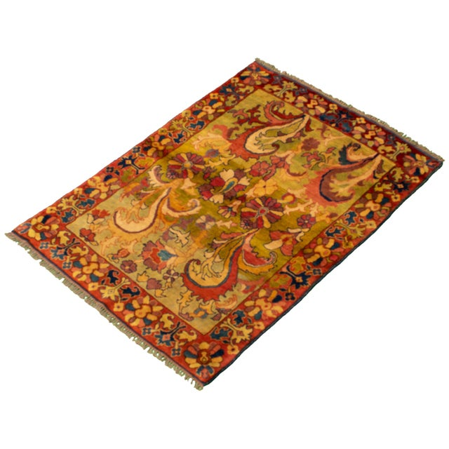 Classic Hand-Knotted Rug For Sale - Image 4 of 9