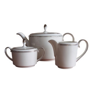 Wedgewood Vera Wang Tea Set For Sale