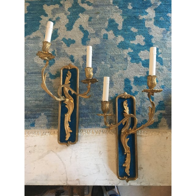 Pair of Bronze Sconces - Image 8 of 8