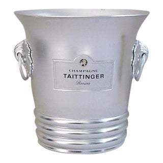 Vintage French Taittinger Champagne Ice Bucket