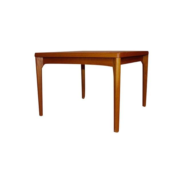 Vejle Stole & Møbelfabrik Mid Century Vejle Stole Mobelfabrik Danish Side Table For Sale - Image 4 of 11