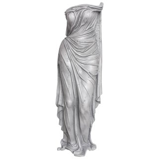 "1930s Vintage Art Deco Aluminum ""Tunic of Venus"" Sculpture For Sale"