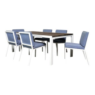 Van Keppel-Green Outdoor Dining Set - 7 Pieces For Sale
