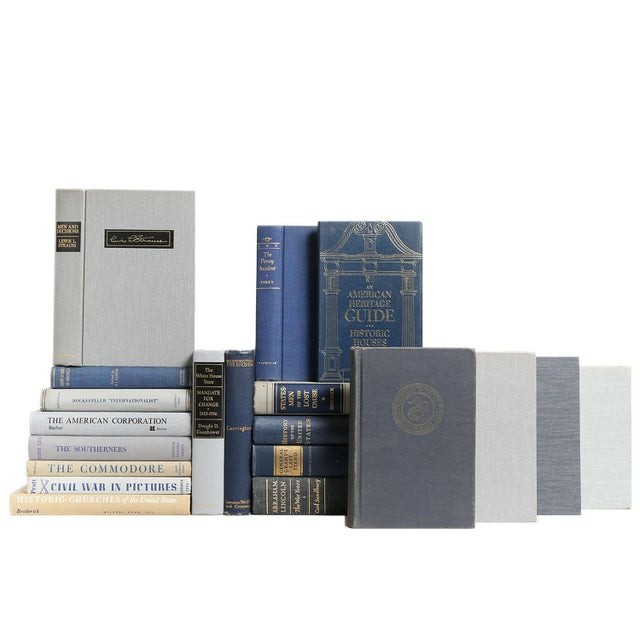 America's Heritage: Navy & Grey - Set of 20 - Image 1 of 2