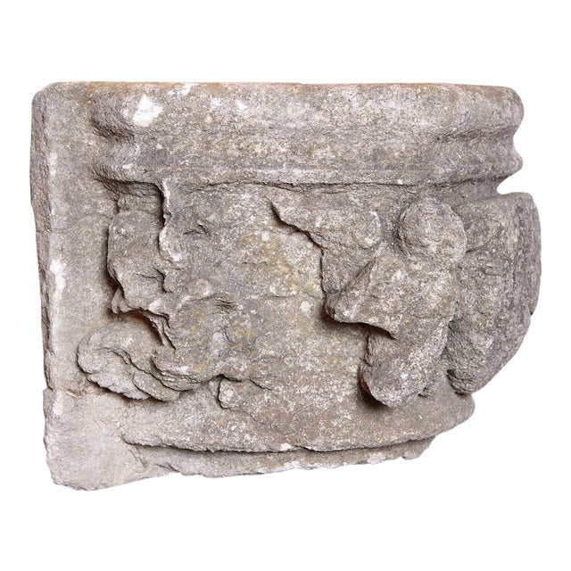 This rare fragment was salvaged from an entryway on a building in Fontvieille, near the city ancient Arles, France. There...