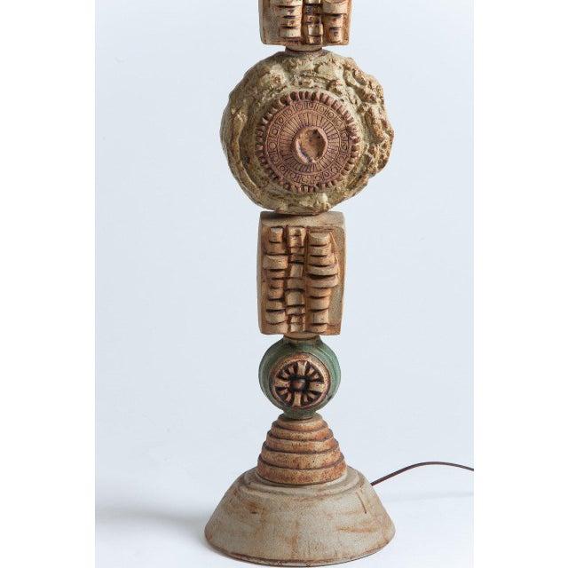 Bernard Rooke Ceramic Floor Lamp - Image 3 of 4