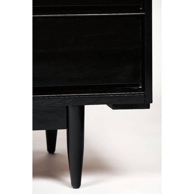 Modernist Danish Chest With Mirrored Top For Sale - Image 9 of 10