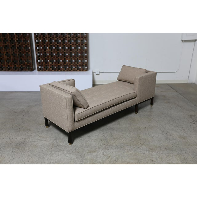 Contemporary Mid Century Edward Wormley Dunbar Tête-à-Tête Sofa For Sale - Image 3 of 8